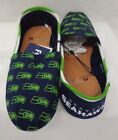 Women's Canvas Stripe Tom Style Stripe Slip On Shoes Forever Collectibles SLOGO