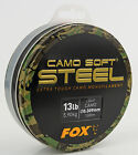 Fox NEW Version Camo Soft Steel Line Mainline Mono 1000m Light Camo *All Types*