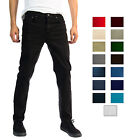 Alta Premium Designer Fashion Mens Slim Fit Skinny Denim Jeans - Multiple Styles