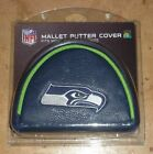 Seattle Seahawks NFL Blade or Mallet Putter Golf Club Head Cover Embroidered
