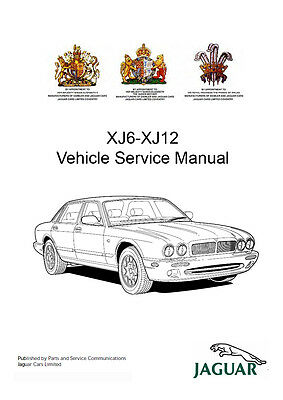 1998-2003 JAGUAR XJ XJ8 XJR (X308) Workshop Service Repair