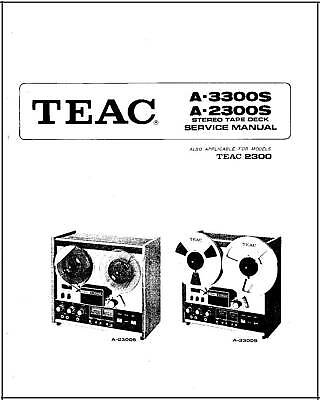Teac VRDS-20 Service Manual