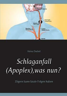 NEW Schlaganfall (Apoplex), Was Nun? by Heinz Duthel Paperback Book (German) Fre