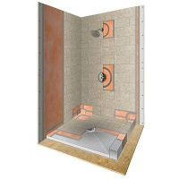 Schluter Systems Kerdi Shower kit 32x72 Center Drain ...