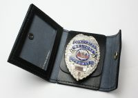 New Rothco Black Leather Police Security Concealed Carry ...