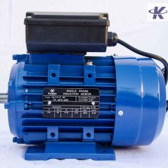 240v Motor Wiring Diagram Single Phase 2000 Ford F150 Starter Solenoid Quotelectric 037kw 1 Quot