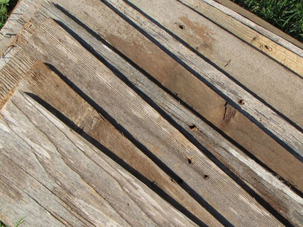 Old Wood Fence Boards