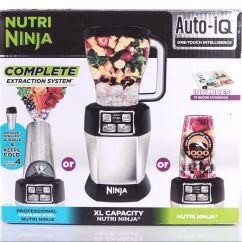 Ninja Complete Kitchen System Mid Century Modern Chairs Nutri Blender Auto Iq Extraction