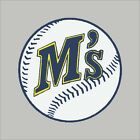 Seattle Mariners #7 MLB Team Logo Vinyl Decal Sticker Car Window Wall Cornhole