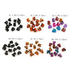 12pcs Small Plastic Black Hair Clips Claws Hair Clamps RS