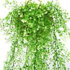 Artificial Fake Hanging Flowers Vine Garland Plant In/Outdoor Home Garden Decor