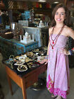 Bohemian 2 in 1 Strapless Dress and Maxi Skirt Recycled Vintage Sari 2 Layer XS