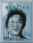 Hiro Nakamura HEROES Volume 2 Topps Hand Drawn Sketch Card by Ken Branch 1/1