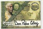 Don Pedro Colley ONGARO 1999 Inkworks Planet of the Apes Autograph Card Auto #A4