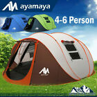 4-6 Person Large Instant Pop Up Dome Family Camping Tent Waterproof Double Layer