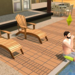 Hanging Chair The Sims 4 With Stand Amazon Mod Ts2 To Ts4 Poolside Loungechairs