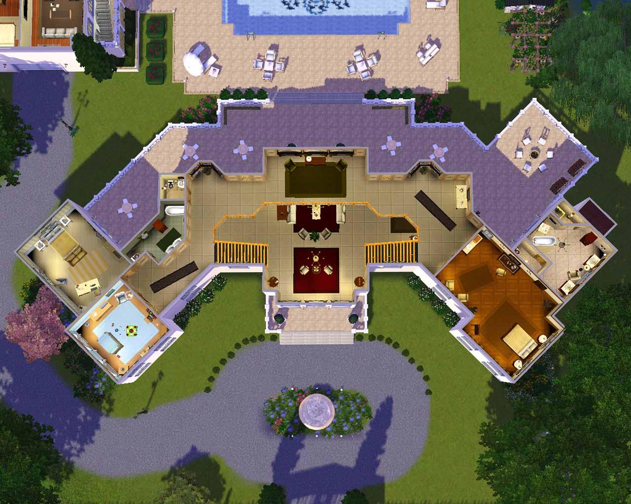 27 Sims 3 Floorplans Ideas - Building Plans Online