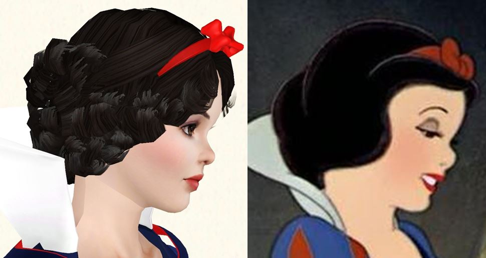 Mod The Sims Snow White YA No CC Sliders
