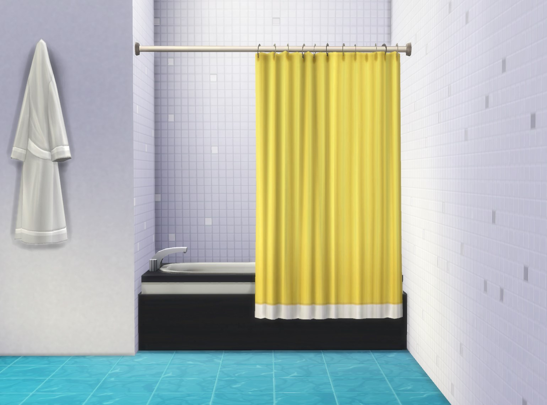 Mod The Sims Bathtub Curtain