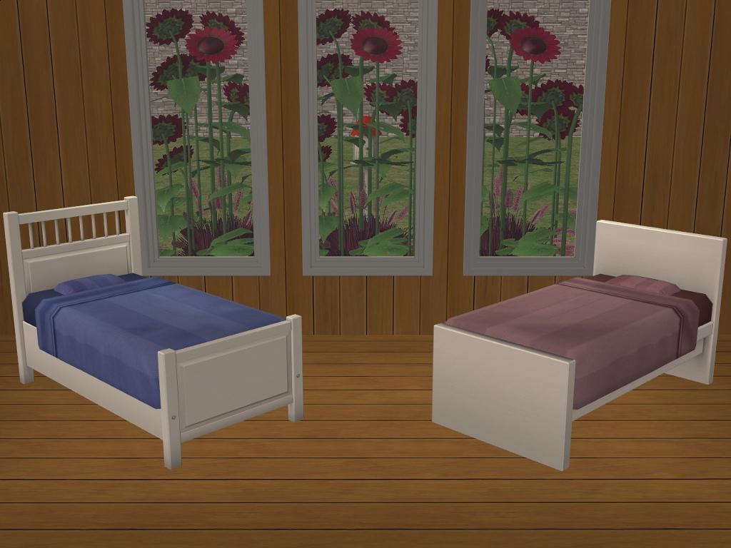 Mod The Sims 2 Ikea Toddler Beds