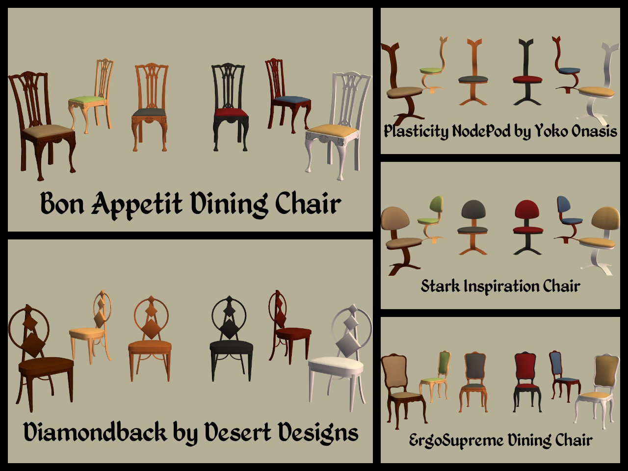 chair parts names dining chairs mod the sims base game part 3