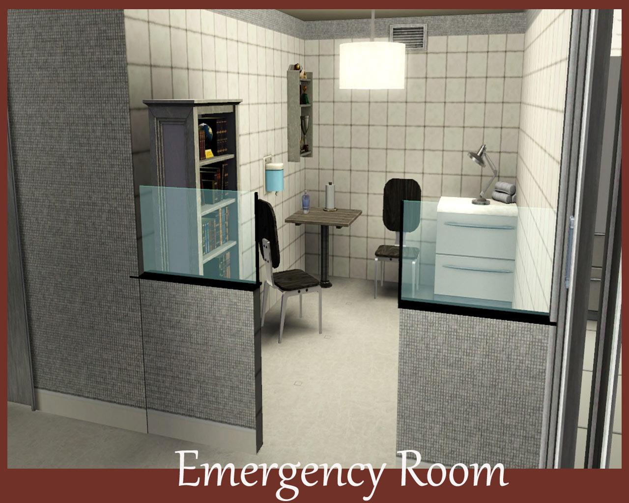 Mod The Sims  Bridgeport General Hospital No CC
