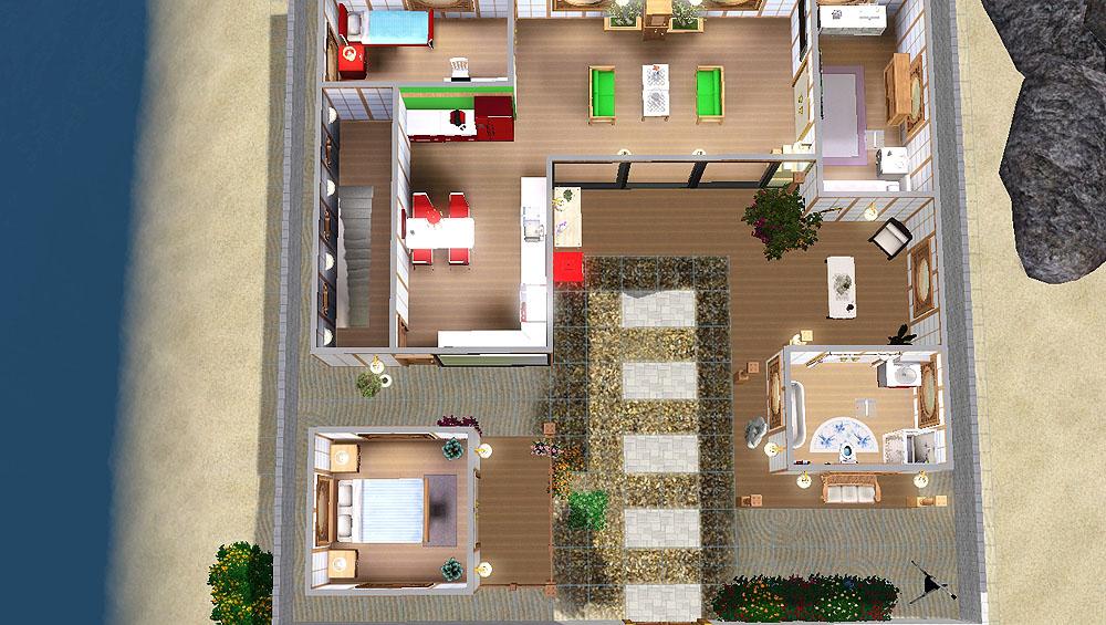 Mod The Sims  The Sanggojae  traditional Korean home