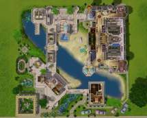 Sims 3 Mansion Floor Plan Houses