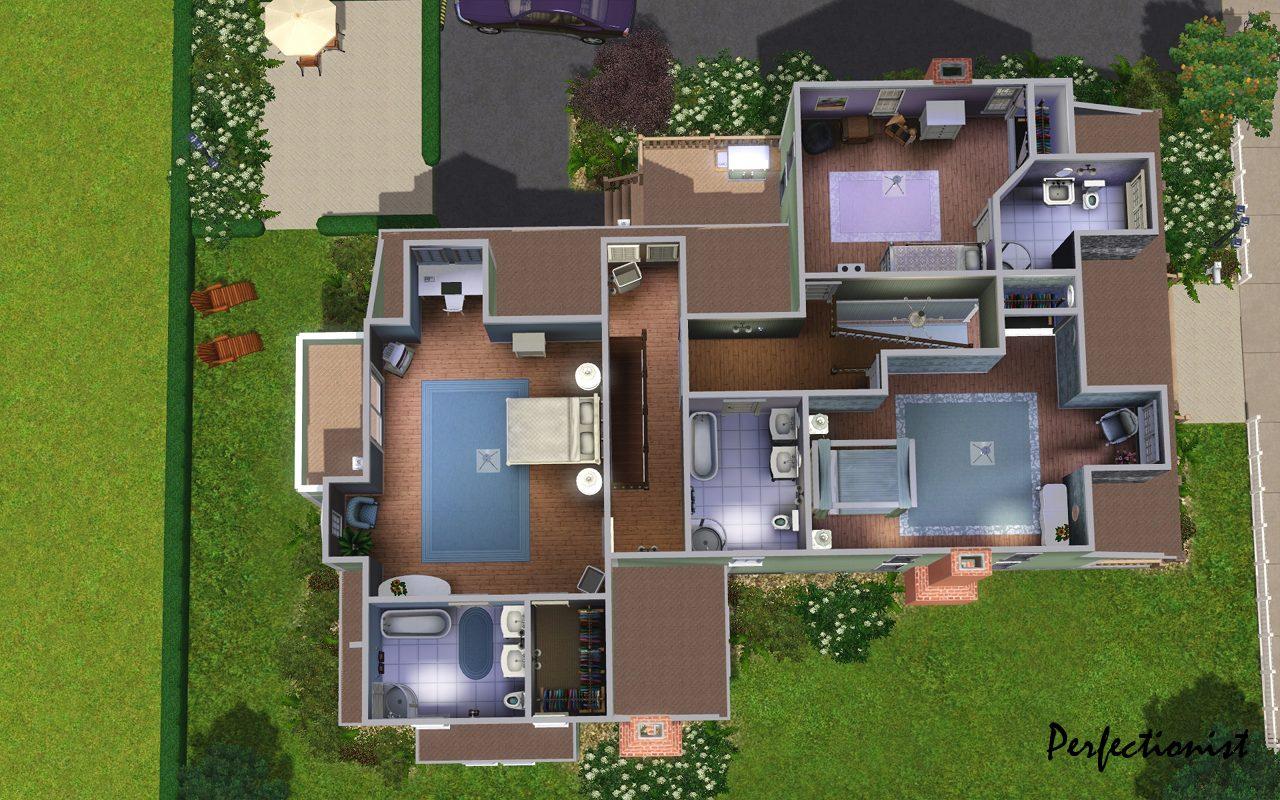 Sims 4 Houses Floor Plans – Modern House