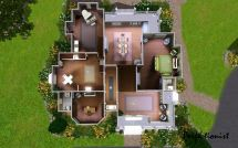 Sims 4 Houses Mansion Floor Plan