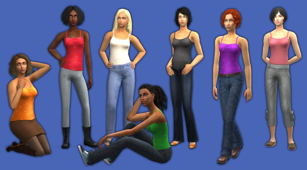 Mod The Sims DEFAULT AftfTopBlousedWaist Fixed 362018