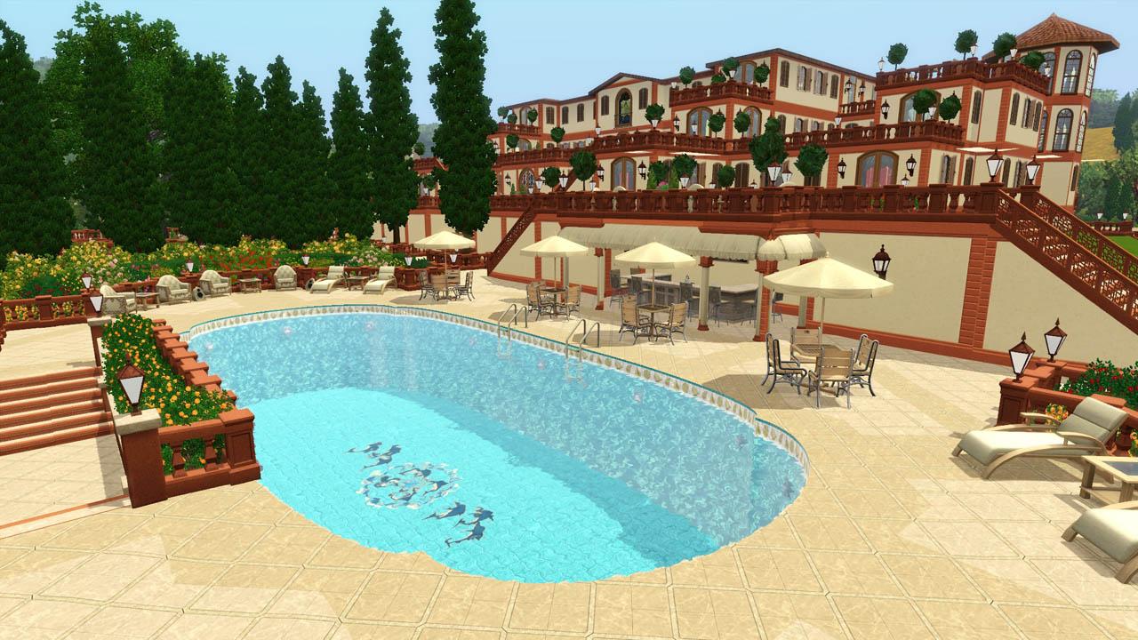 Mod The Sims  Villa Leopolda