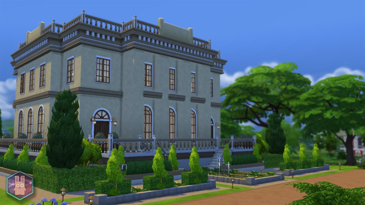 Mod The Sims  Petit Trianon Palace A Royal Romance NO CC