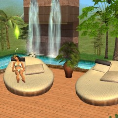 Best Lounge Chair For Living Room Black Wicker Chairs Mod The Sims - Animonia Design A Cushy Place At Pool