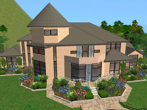 House Ideas For Sims 2 Double Deluxe House Ideas