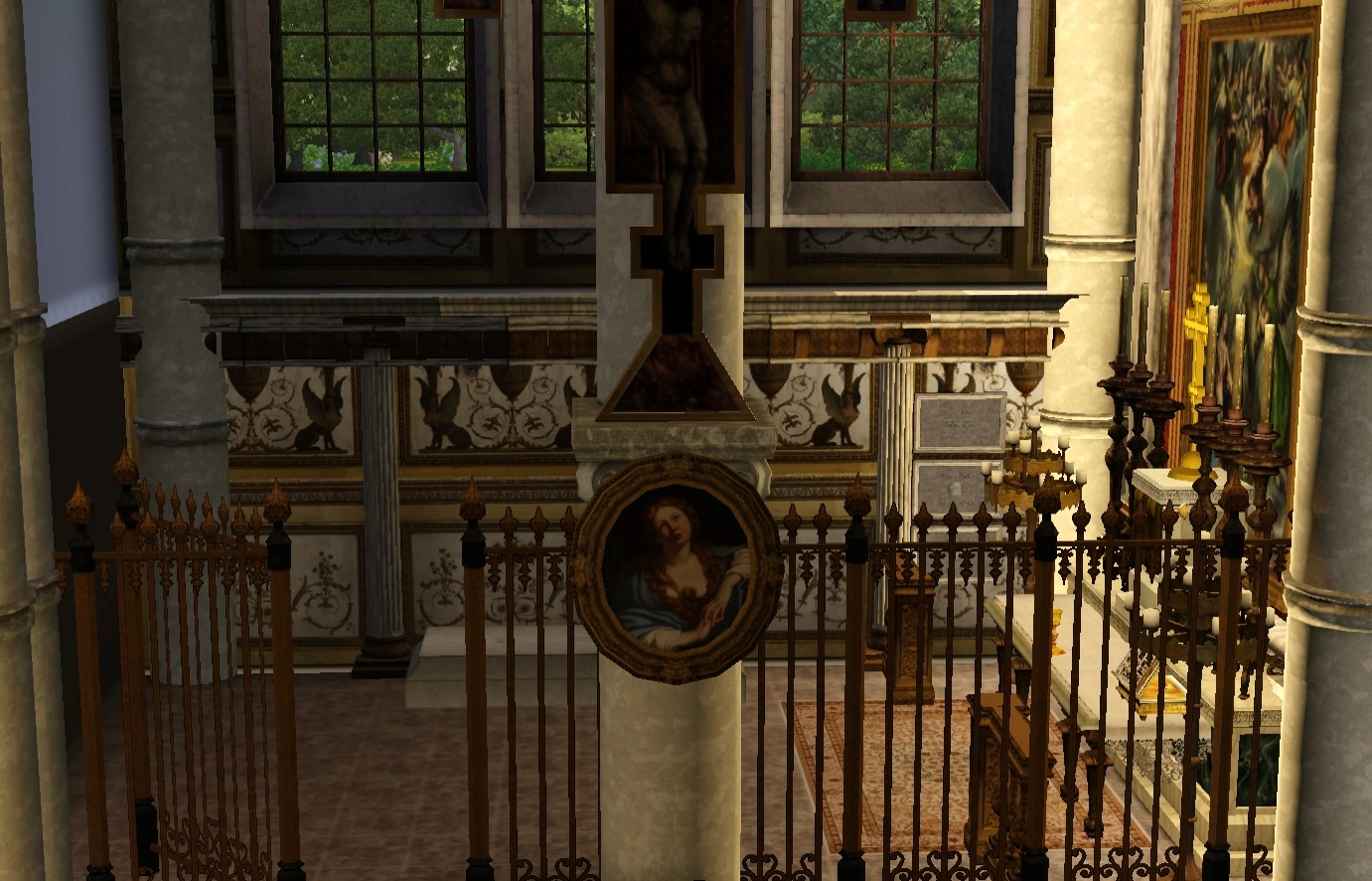Mod The Sims  French style cathedral