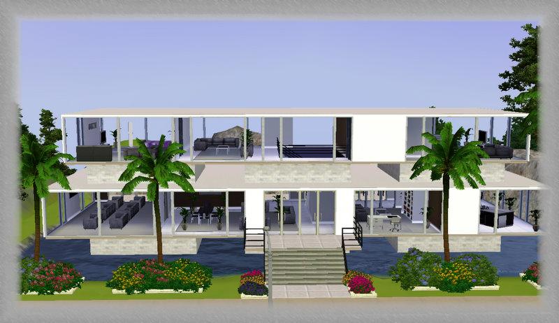 Modern House Ideas Sims 3 House Interior