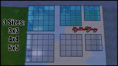Mod The Sims  Transparent Floor Windows