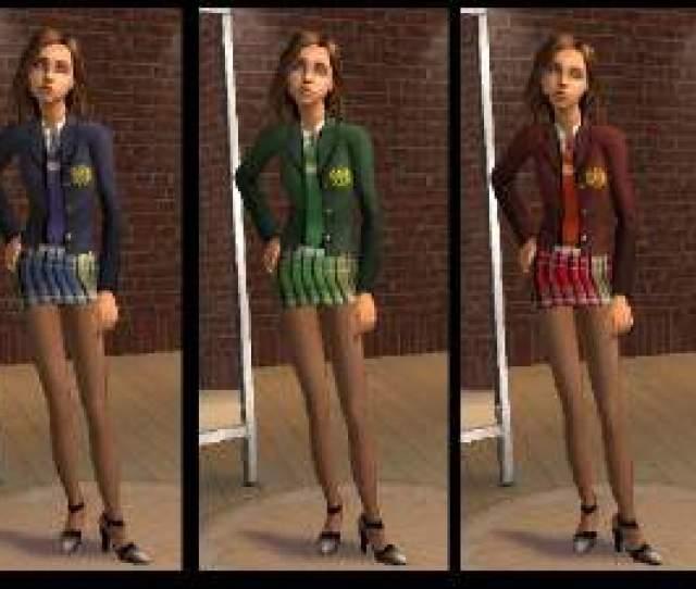 Sexy Teen School Uniform