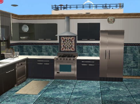 Mod The Sims  More Kitchen Tile and Backsplash Sets