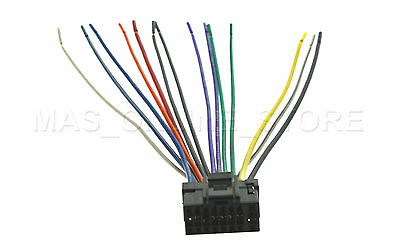 ALPINE CDA 7892 CDA7892 WIRE HARNESS PAY TODAY SHIPS alpine cda 9827 wiring diagram alpine cda-9827 wiring harness at edmiracle.co