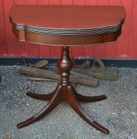 Ferguson Brothers Glass Top 1930's Mahogany Coffee Table
