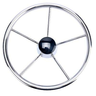 13-1/2 INCH 5-SPOKE DESTROYER STYLE STAINLESS BOAT