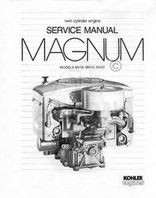 Kohler M18 Engine 18 HP Onan Engine wiring diagram