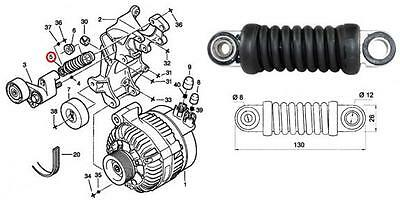 Pulleys & Tensioners, Engines & Engine Parts, Car Parts