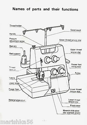 Simplicity Easy Lock SL390 Serger Manual PDF • $5.95