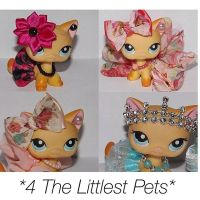 Littlest pet shop accessories LPS clothes for pet 4pc ...