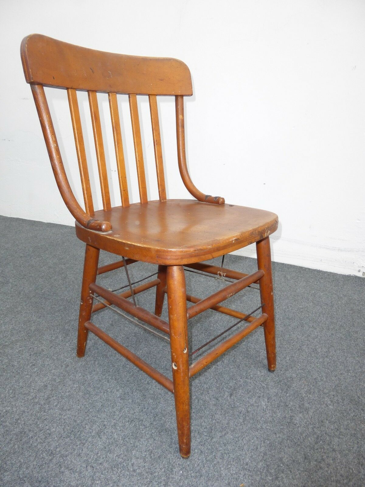 heywood wakefield chairs grey fabric dining chair antique mid century modern french