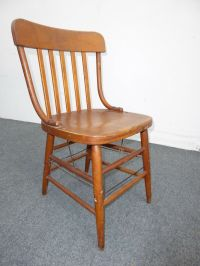 HEYWOOD WAKEFIELD CHAIR Antique Mid Century Modern French