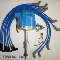 Ford 302 Electronic Distributor Wiring Diagram Gm Radio Cal Err Small Block 221 260 289 And Blue Hei
